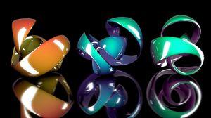 Превью обои фигурка, форма, сплав, разноцветный