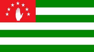 Превью обои флаг, абхазия, республика, символика