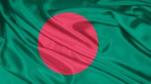 Превью обои флаг, символика, цвета, материал, шелк, бангладеш