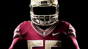 Превью обои florida state seminoles, американский футбол, униформа