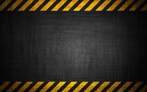 Превью обои фон, ленты, радиация, опасность, стена