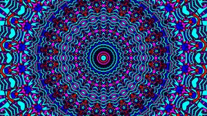 Превью обои фрактал, узор, круги, абстракция