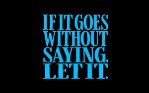 Превью обои фраза, надпись, слова, текст, синий