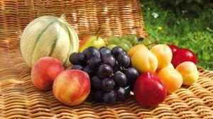 Превью обои фрукты, ассорти, вкусно