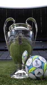 Превью обои футбол, мюнхен, альянс арена, мяч