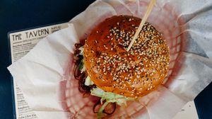 Превью обои гамбургер, кунжут, булочки, аппетитно