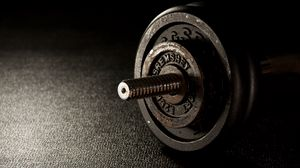 Превью обои гантели, фитнес, тренажерный зал