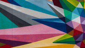 Превью обои геометрия, разноцветный, фрагменты, абстракция