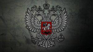 Превью обои герб, россия, орел, символика