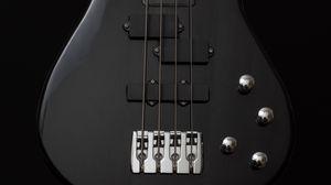Превью обои гитара, бас гитара, струны