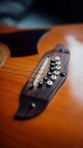 Превью обои гитара, музыкальный инструмент, музыка, струны