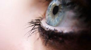 Превью обои глаз, ресницы, зрачок