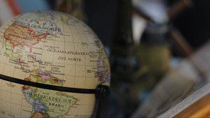 Превью обои глобус, карты, шар