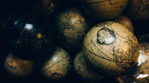 Превью обои глобусы, карты, шары