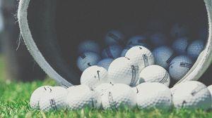Превью обои гольф, мячи, nike