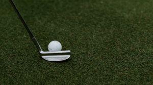 Превью обои гольф, мяч, клюшка