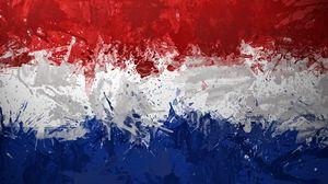 Превью обои голландия, фон, нидерланды, королевство, текстура, краска
