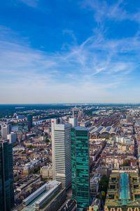Превью обои город, городской пейзаж, здания, вид сверху