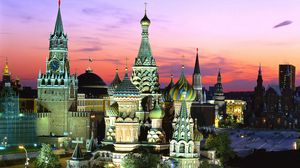 Превью обои город, москва, россия, кремль