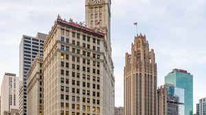 Превью обои город, здания, архитектура, башня, чикаго