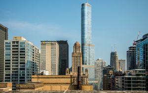 Превью обои город, здания, небоскреб, архитектура