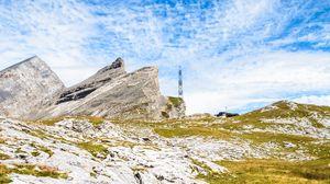Превью обои горы, скалы, пейзаж, природа