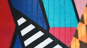 Превью обои граффити, арт, полосы, разноцветный