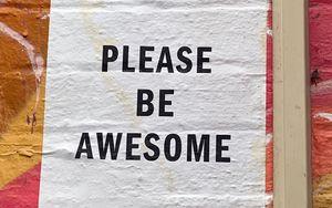 Превью обои граффити, фраза, текст, слова, мотивация