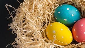 Превью обои яйца, пасха, праздник