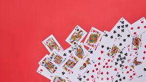 Превью обои игральные карты, игра, игровой, джокер, король, королева