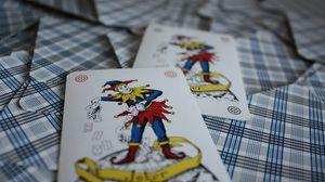 Превью обои игральные карты, карты, колода, джокер