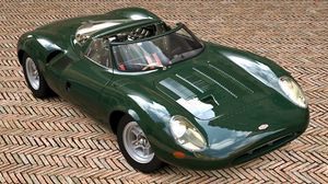 Превью обои jaguar xj13, 1996, race car, roadster