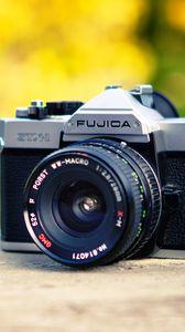 Превью обои камера, линза, объектив, размытие