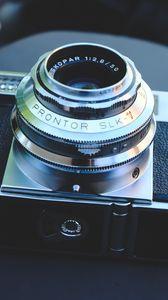 Превью обои камера, объектив, ретро