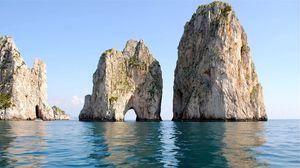 Превью обои камни, берег, лето, море