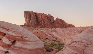 Превью обои каньон, горы, скалы, каменный, рельеф