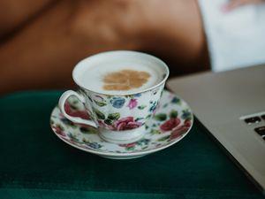 Превью обои капучино, кофе, напиток, пенка, чашка