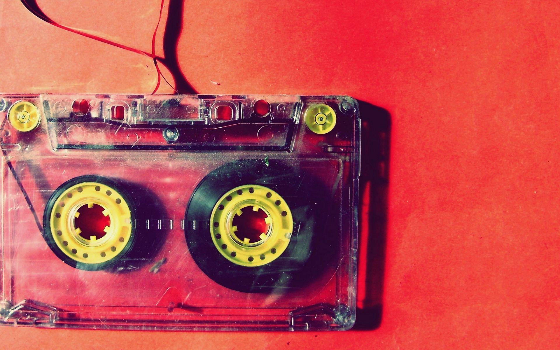 1920x1200 Обои кассета, музыка, старинный, пленка