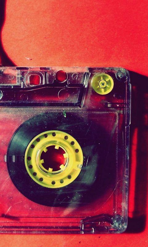 480x800 Обои кассета, музыка, старинный, пленка