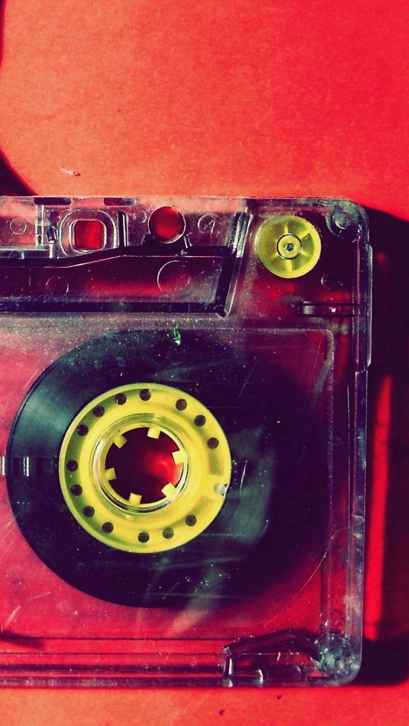 800x1420 Обои кассета, музыка, старинный, пленка