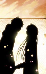 Превью обои kimi ni todoke, девушка, парень, любовь, чувства, встреча, свидание