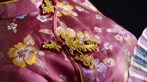 Превью обои кимоно, веер, украшения