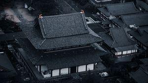 Превью обои китай, здания, крыши
