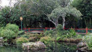 Превью обои китай, павильон пруд, парк, пруд, пейзаж