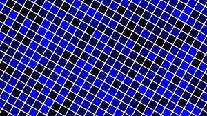 Превью обои клетки, сетка, градиент, синий, черный
