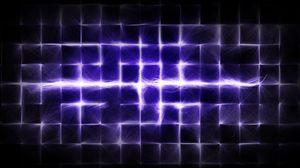 Превью обои клетки, сиреневый, яркий, свет, блеск