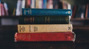Превью обои книги, библиотека, старые