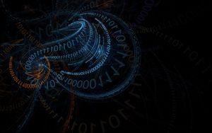 Превью обои код, кодирование, двоичный код, абстракция, узоры