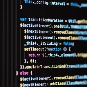 Превью обои код, программирование, текст, строки, символы, разноцветный