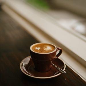 Превью обои кофе, эспрессо, капучино, чашка, пенка